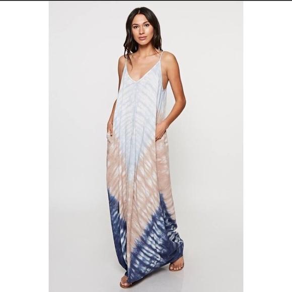 54555569a1 Love Stitch Dresses   Nwots Lovestitch Tiedye Maxi Dress   Poshmark